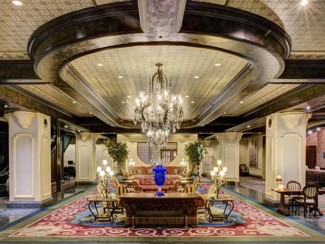 旭川グランドホテル(10月1日より:星野リゾート 旭川グランドホテル) 重厚で格調高い建築と気品漂う空間