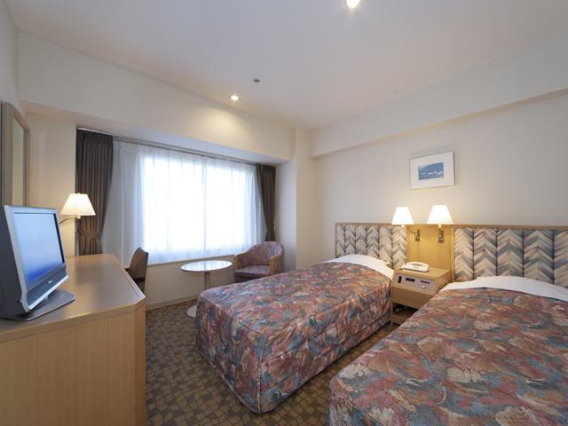 札幌全日空ホテル(2017年12月1日より:ANAクラウンプラザホテル札幌) 21平米スタンダードツイン
