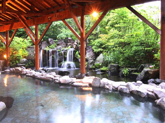 温泉大浴場&岩露天風呂