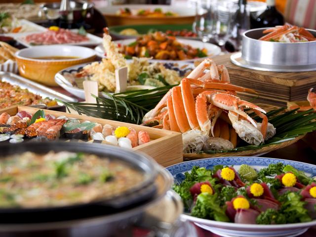 ホテルサンバレー那須 安心安全な地元食材にこだわった世界4大食のバイキング