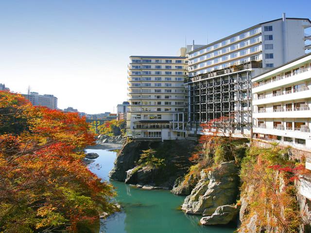 鬼怒川プラザホテル ホテル外観