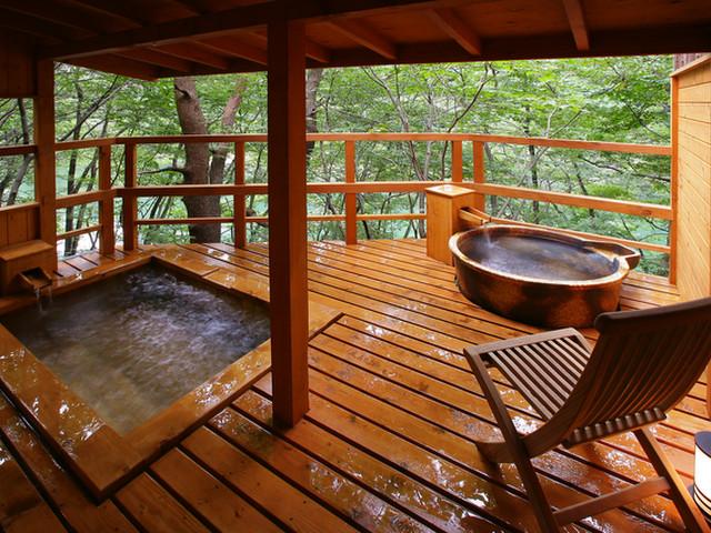鬼怒川プラザホテル 貸切風呂「あけび」一例