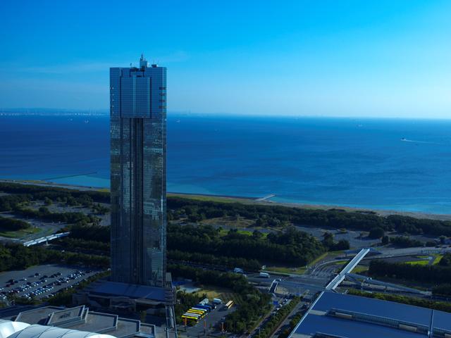アパホテル&リゾート<東京ベイ幕張> ホテル単体としては日本一の高さを誇る高層タワーホテル