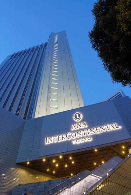 ANAインターコンチネンタルホテル東京 アークヒルズに立地する地上37階建ての高層ホテル