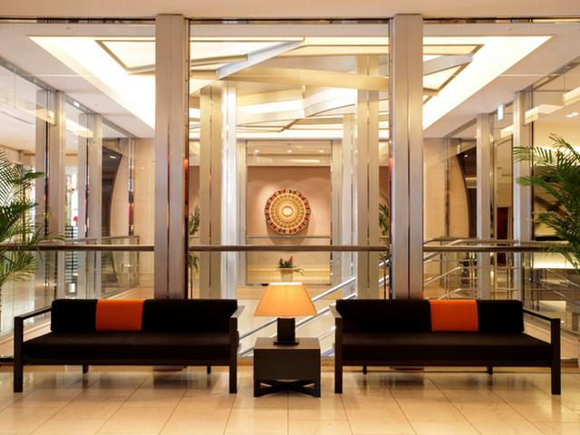コートヤード・マリオット銀座東武ホテル 外国人比率60%のインターナショナルホテルです