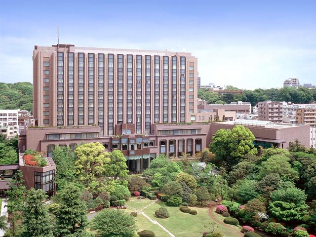 緑に囲まれたラグジュアリーホテル