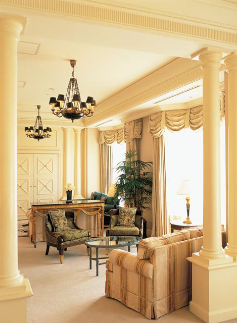 リーガロイヤルホテル東京 広さ222平方メートルを誇るロイヤルスイート