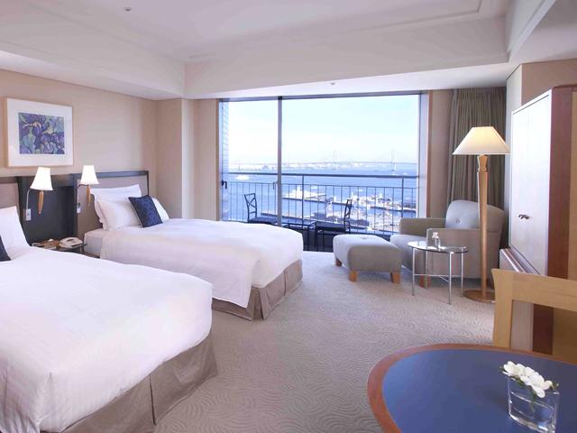 横浜ベイホテル東急 バルコニー付きの客室「エグゼクティブツイン」