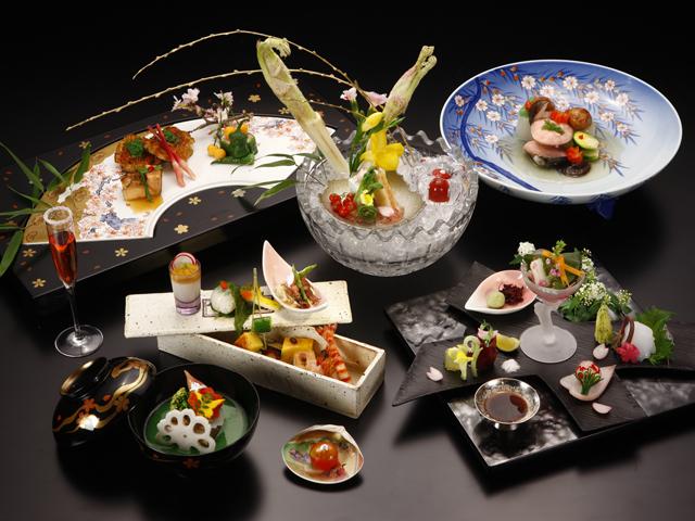小田急 ホテルはつはな 見た目も美しい懐石料理