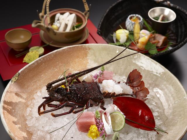 小田急 山のホテル 四季折々の厳選食材を使用した「懐石料理イメージ」