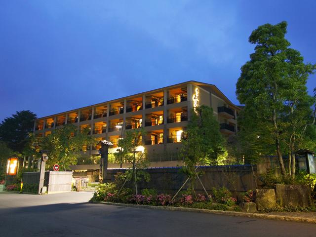 箱根強羅温泉季の湯雪月花 箱根観光に便利な強羅駅前に立地