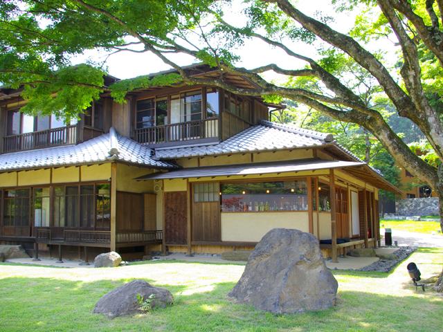 箱根・翠松園 重要有形文化財 レストラン「紅葉(もみじ)」