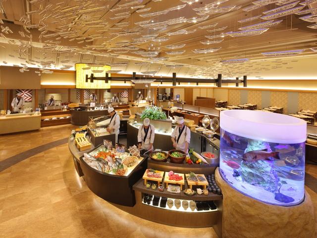 日本海 漁港朝揚げバイキングレストラン 「Seeds(シーズ)」