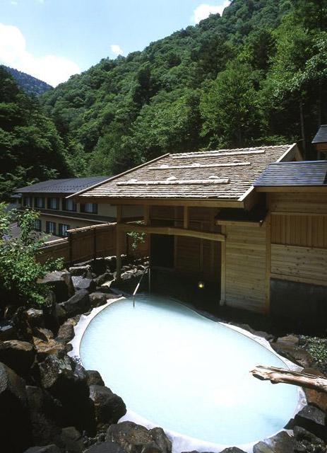 湯元齋藤旅館 露天風呂