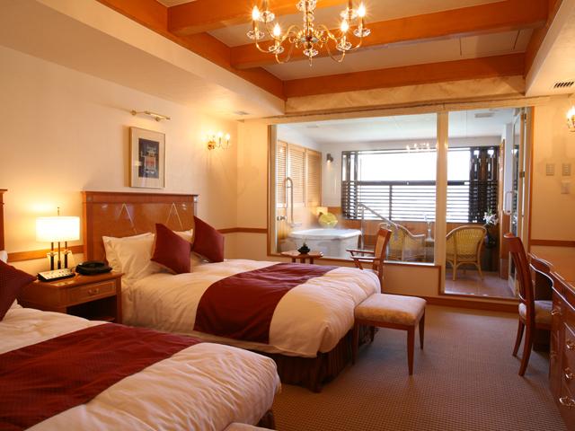 高山グリーンホテル 天領閣別邸「露天風呂付洋室」