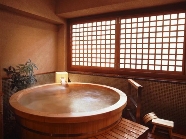 自家源泉を使用した貸切家族風呂「五島の湯」