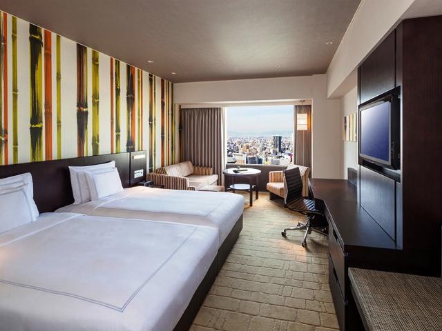 スイスホテル南海大阪 全面改装を施したスイス アドバンテージ ルーム