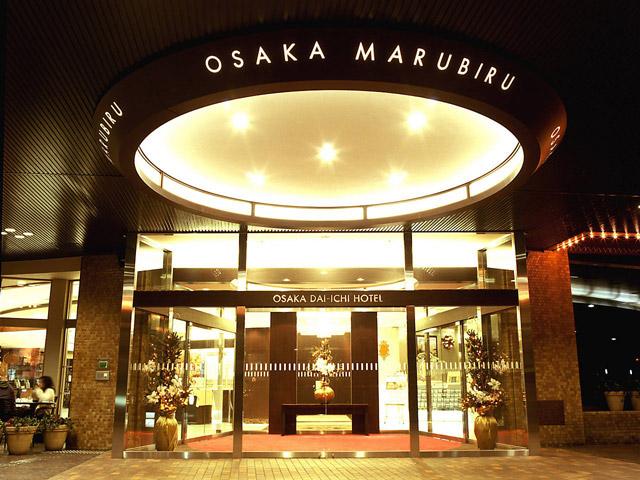 大阪第一ホテル 正面玄関