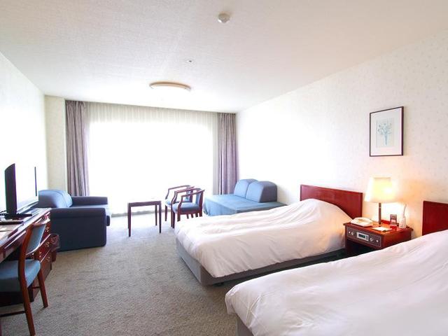 南淡路ロイヤルホテル 広々とした32平方メートルの洋室タイプ