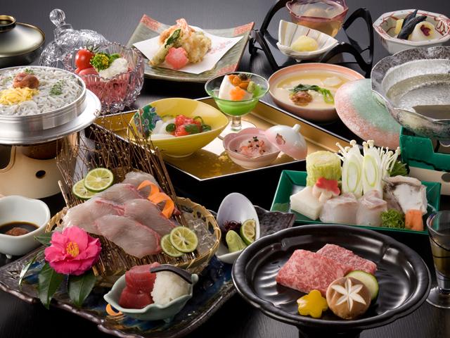 南紀白浜 梅樽温泉 ホテルシーモア 南紀の色鮮やかな旬の食材を五感でお楽しみ下さい