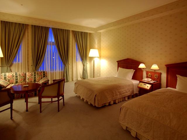 ホテルアムステルダム 全室45平方メートル以上あり、ゆったりと寛げる客室