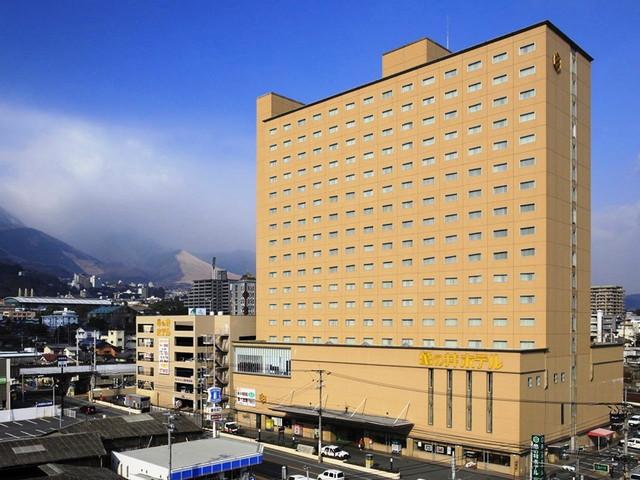 別府亀の井ホテル JR別府駅より徒歩4分。別府ICより車で12分