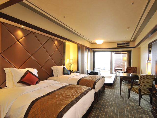 SPA RESORT EXES(スパリゾートエグゼス) 客室は59~88平米でゆったりとお寛ぎ頂けます
