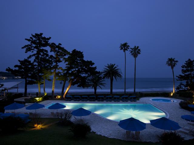 伊豆今井浜東急リゾート ゆるやかに流れるBGMは波の音だけ・・・