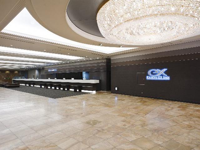 京急EXイン品川駅前(シナガワグース内) ビジネスホテルとは思えないロビー