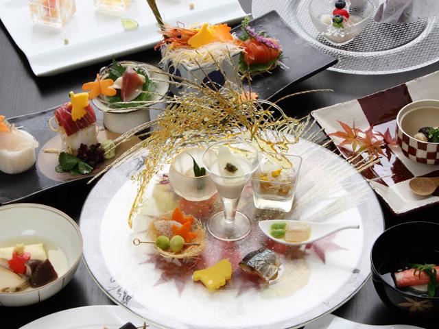 きたの風茶寮 北海道の旬の食材を使用した目でも楽しめる和会席料理