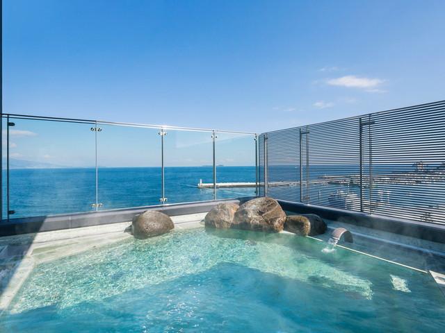 星野リゾート 界 アンジン 海風を感じられる絶景露天風呂