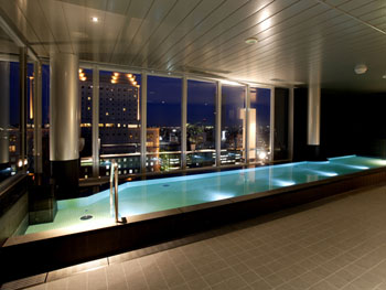 露店風呂もある大浴場