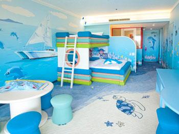 海をテーマにしたフリッパーズルーム