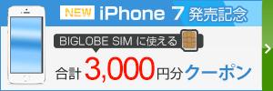 BIGLOBE SIM iPhone�����L�O