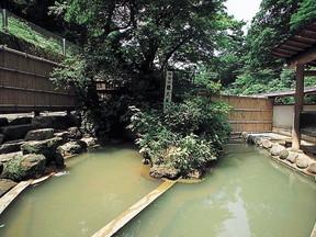 伊香保温泉露天風呂(群馬県)