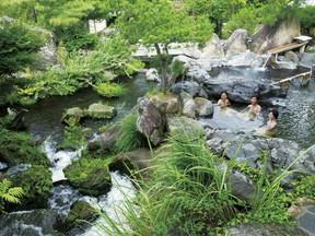 長島温泉 湯あみの島(三重県)