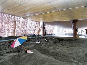 砂むし会館「砂楽」(鹿児島県)