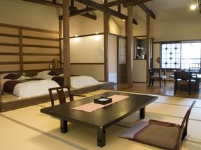 奈良屋 和の落ち着きにモダンな雰囲気を盛り込んだ贅沢な空間