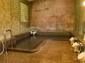 富士屋ホテル 少人数用の浴場でも良質の源泉かけ流し