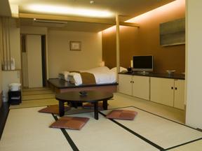 箱根強羅温泉季の湯雪月花 客室一例(和洋室)
