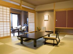 強羅天翠 琉球畳が美しい和室
