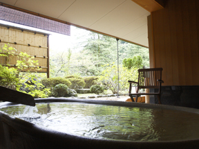ホテル南風荘 客室の露天風呂