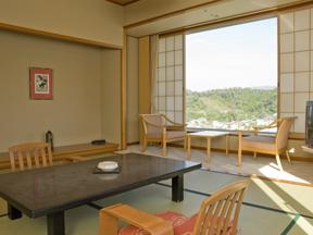 ホテル天坊 天気がよければ富士山も見える客室