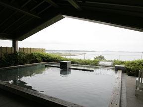 松島温泉湯元松島一の坊 露天の湯「八百八島」