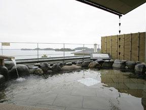 松島温泉湯元松島一の坊 眺望の湯「五大観」(露天)