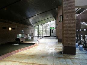 篝火の湯緑水亭 大浴場「緑水の湯」