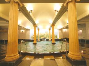 雄山閣 ご婦人大浴場「ギリシャ神殿」
