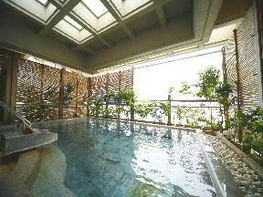 加賀屋 空中露天風呂