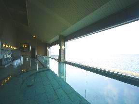 ホテル海望 「白鷺」大浴場