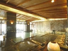 ゆけむりの宿美湾荘 殿方の湯「真珠風呂」大浴場